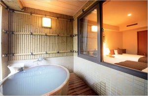 ホテルまほろば 露天風呂