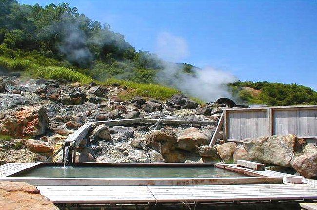 蒸の湯温泉 絶景